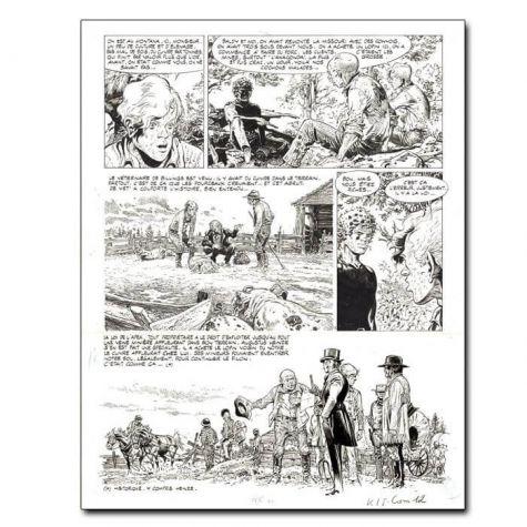 Comanche / Planche 12 du Doigt du Diable