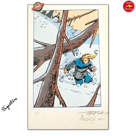 Ex-libris / Tarquin / Arleston / Lanfeust de troy / Forbidden Zone