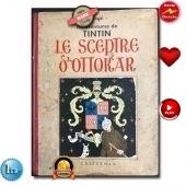 Tintin le sceptre d'Ottokar 1939